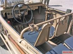 Schwimmwagen interior.