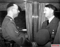 Himmler and Hitler.