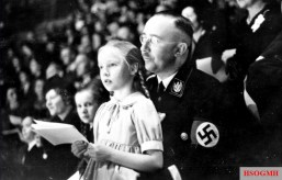 Himmler with his daughter Gudrun.