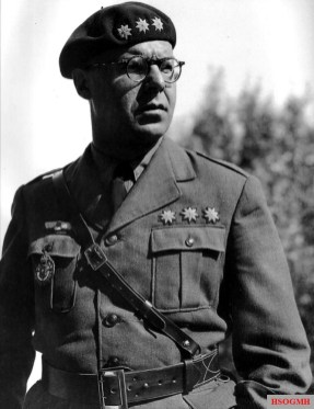 Major or Lieutenant Colonel Hermann Plocher as an airman officer and Chief of the General Staff of the Legion Condor.