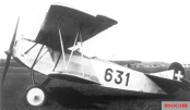 Swiss Fokker DVII flown by Udet in 1936.
