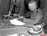 Field Marshal Wilhelm Keitel signed the unconditional surrender to the Red Army at 0.16 in the officers' mess of the Army Pioneer School in Berlin-Karlshorst on May 8, 1945.