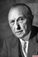 Konrad Adenauer in 1952.