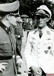 Rudolf von Ribbentrop and Friedrich Geisshardt.