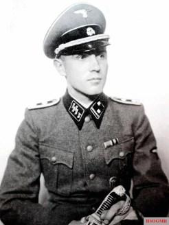 SS-Standoberjunker Herbert Dost [2] after completion of the SS-Junkerschule Bad Tölz.