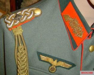 Generalleutnant Erwin Mack's uniform.