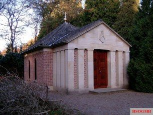 Wilhelm II's tomb in Doorn, Netherlands.