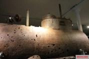 Salvaged Seehund submarine, Bundeswehr Military History Museum, Dresden.