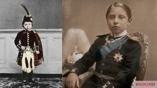 Crown Prince Wilhelm as a child.