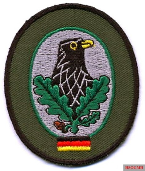 Sniper badge of the Bundeswehr.