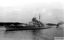 Bismarck in 1940.