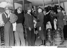 The unshakable confidence in victory of the German people cannot be better characterized than by the incessant flow of volunteers, even in the 6th year of the war. Trained by experienced instructors, with the latest and best weapons, they will soon stand at the front, November 1944.