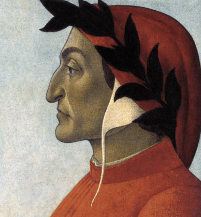 Portrait of Dante c. 1495 Tempera on canvas http://www.wga.hu/frames-e.html?/html/b/botticel/7portrai/14dante.html