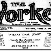 """1938 News Report: Financial War on """"Anti-Semitic States"""" for """"Persecuting Jewish FINANCIERS"""" not Civilian Jews"""