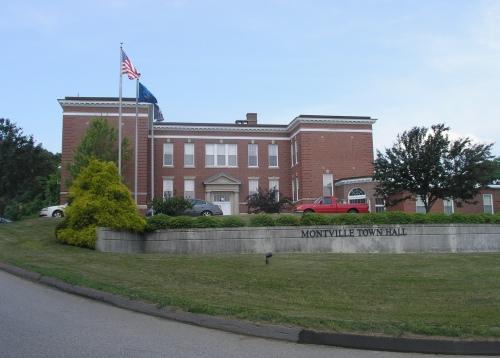 Uncasville School – Montville Town Hall (1918) – Historic