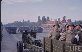 Defilarea artileriei din Bucureşti de 23 august 1964