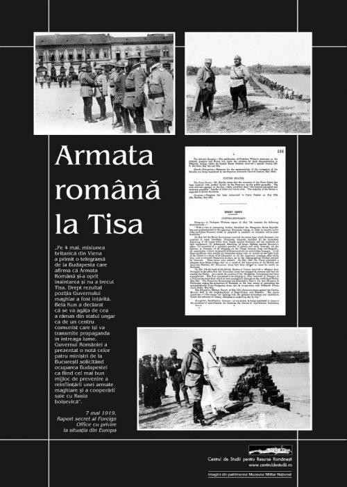 Armata Română la Tisa