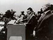 1967 - Nicolae Ceauşescu ţine un discurs la Mărăşeşti Fototeca online a comunismului românesc