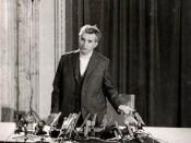 1977 - Nicolae Ceauşescu la conferinţa de presă de după cutremurul din Bucureşti Fototeca online a comunismului românesc