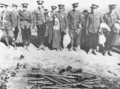 1940 - jandarmi români dezarmaţi de sovietici în Basarabia