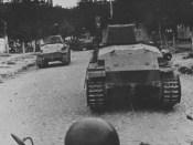 1941 tancuri româneşti la Chişinău