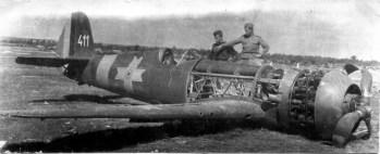 1944 avion IAR 81C doborât de sovietici