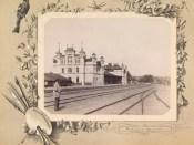 Gara din Chișinău la 1889