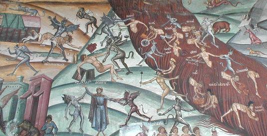 Iadul de la Hurezi.