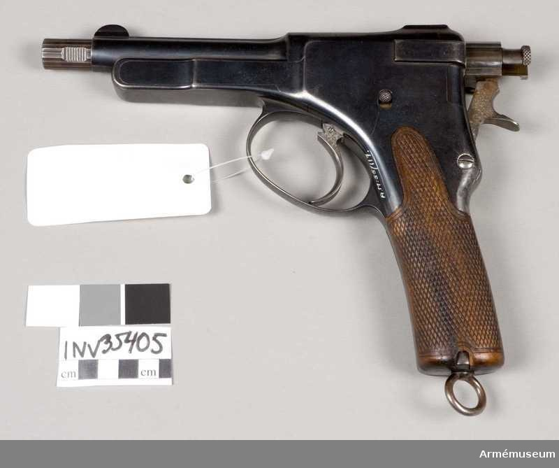 Pistolul Krnka model 1895