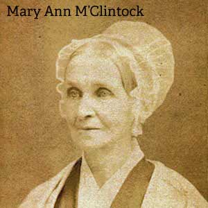 Mary Ann M'Clintock
