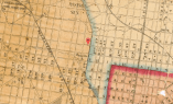 Map of Fairhill, 1855
