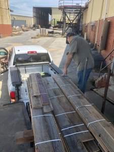 Gatlinburg TN barnwood accent wall material