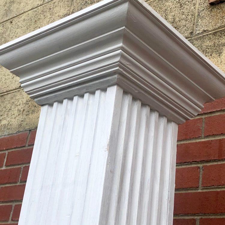 Reclaimed columns