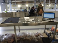 Un esempio delle varie scrivanie e piani di lavoro dove vi ritroverete a lavorare