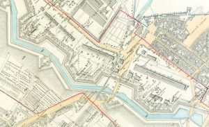 New Barracks map of 1891