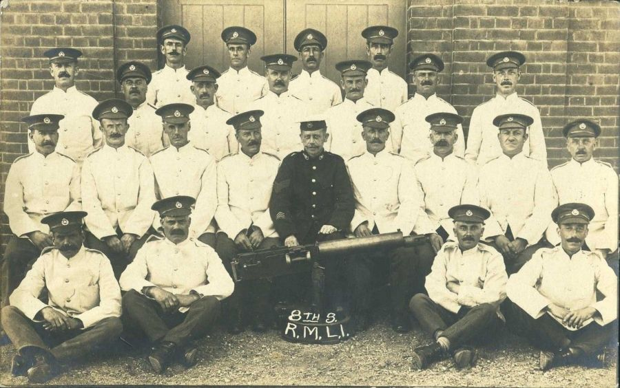 Royal Marine Light Infantry at Forton