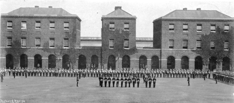 Royal Marine Light Infantry at Forton Barracks December 1898