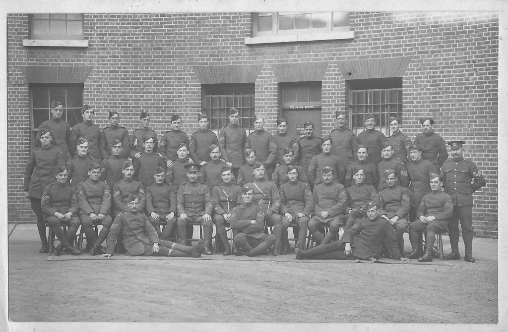 Sergeants' Mess School of Special Flying Fort Rowner 1917