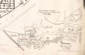 Forton Detention Barracks and cemetery