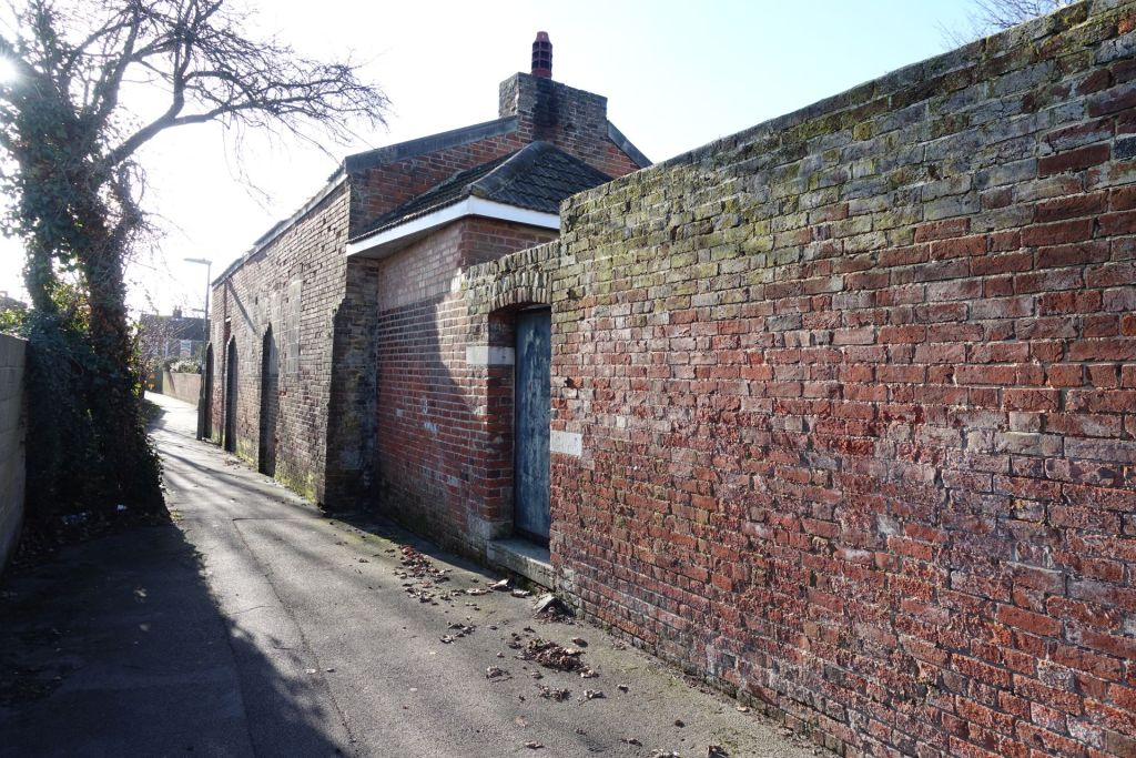 The remaining part of the old Brockhurst Bewery