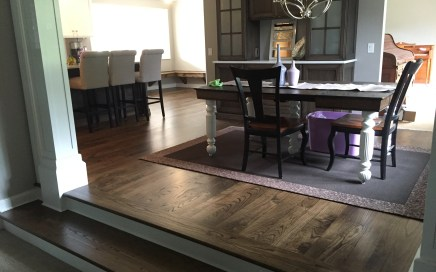 raised dining room floor
