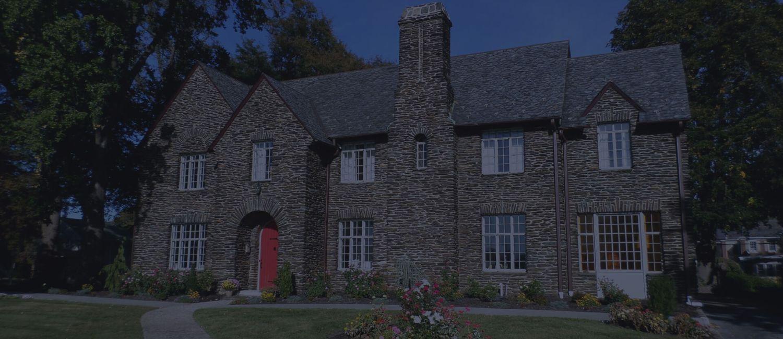 historic stone mansion