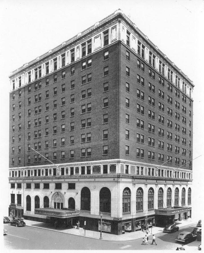 Demolition of Penn-Harris Hotel