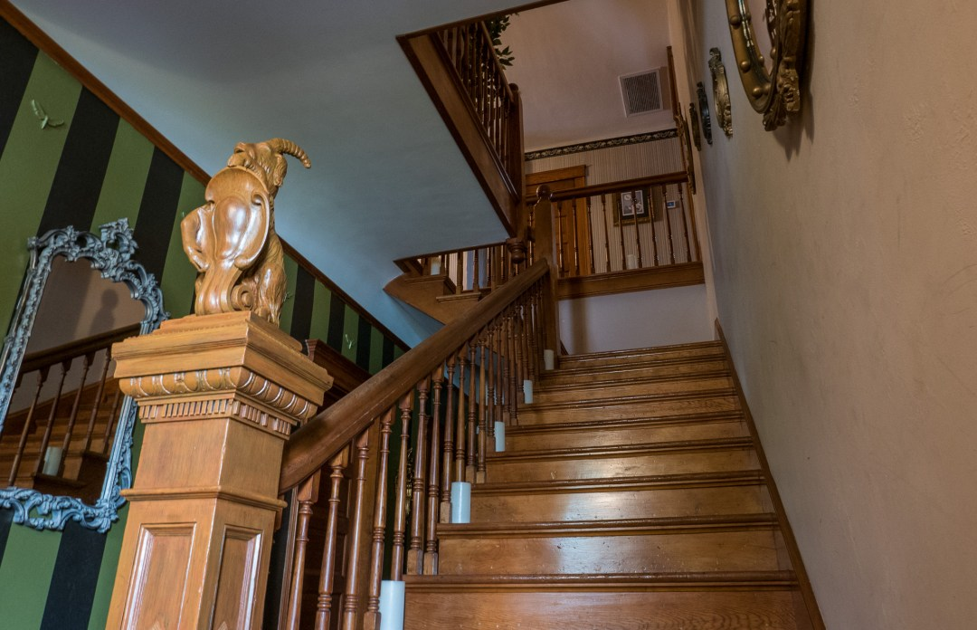 Stairwell From Entry