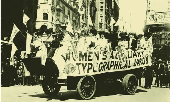womens auxiliary typographical union