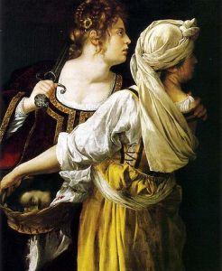 Judith and her Maidservant (1613–14), Palazzo Pitti, Florence