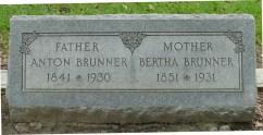 Glenwood Cemetery, AntoineBrunner