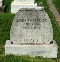 Glendale Cemetery, James Deady