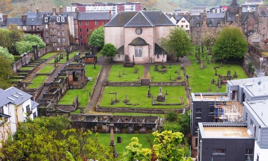Canongate Burial Ground