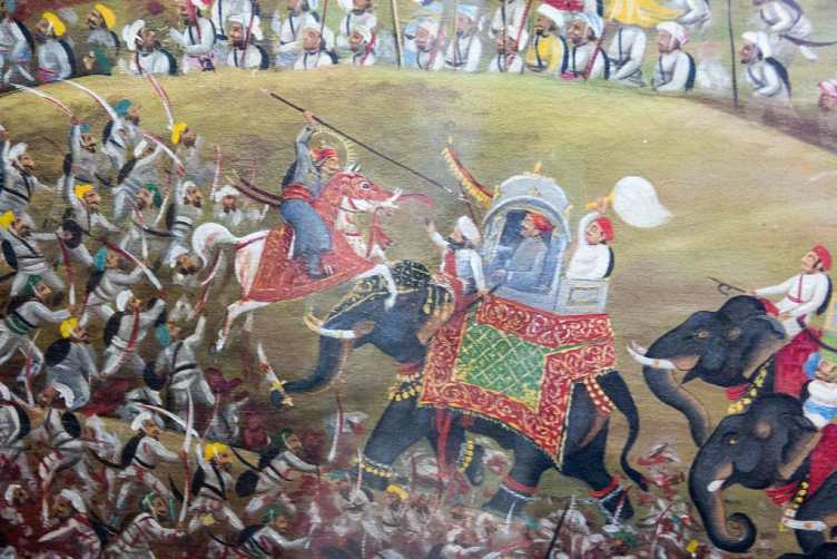 Maharana Pratap in War of Haldighati